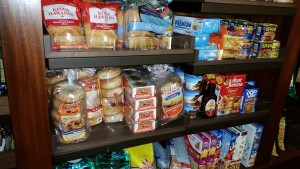 Cereal, Bread, and of course SPAM in Kalepa's Store