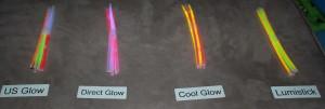 Glow Sticks Activated