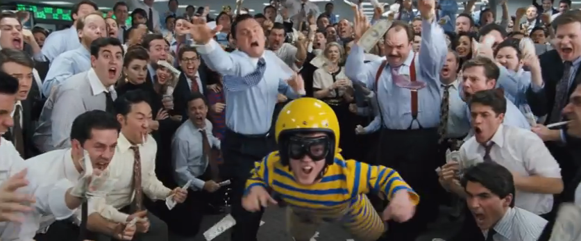 "Wall Street ""dwarf-tossing."" Paramount Pictures/YouTube"